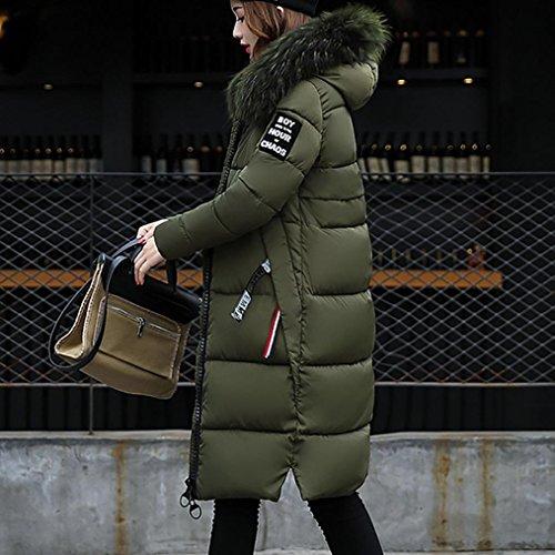 Bovake - Manteau - Femme vert militaire