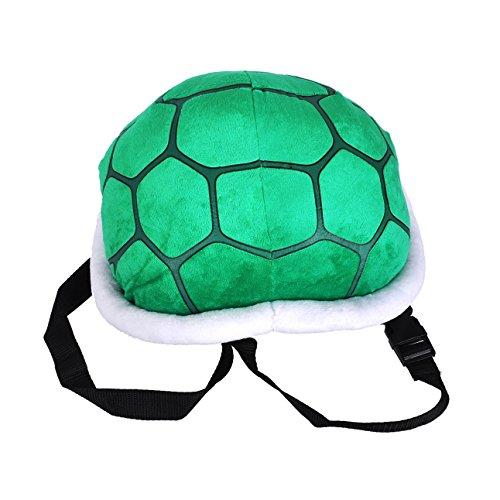 Kostüm Ninja Turtle Plüsch - KeySmart Schildkrötenpanzer aus Plüsch für Kinder Kostüm