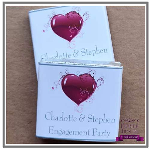 Eternal Design Personalisierte Flaschenetiketten für Vater der Braut oder Bräutigam FAT1 Tolle Geschenkidee