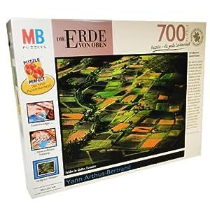 MB puzzle - La terre vue du ciel - 700 pieces - Yann arthus-Bertrand - Equateur