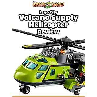 Review: Lego City Volcano Supply Helicopter Review