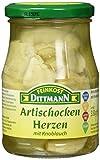 Feinkost Dittmann Artischockenherzen mit Knoblauch Glas, 310 g