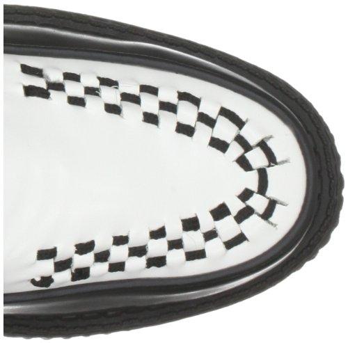 TUK - Scarpe basse, Unisex - adulto Nero (Schwarz (Noir/Blanc))
