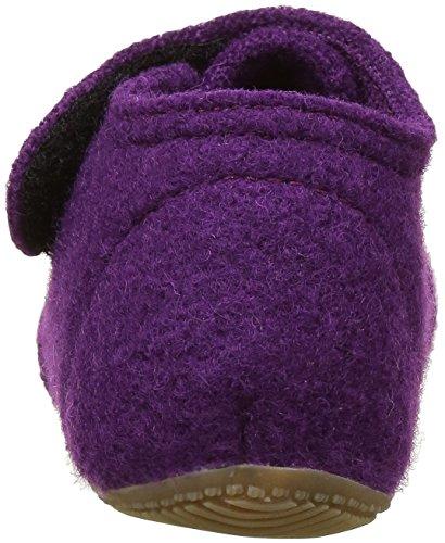 Living Kitzbühel Baby Mädchen Babyklett Hund mit Brille und Pfote Lauflernschuhe Violett (petunie 369)