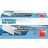 Rapid 11857050 Heftklammern 53/8mm, Stahl, verzinkt, 5000 Stück