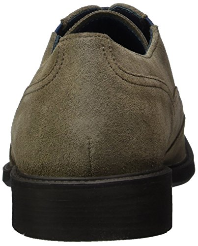 Geox Carnaby H, Scarpe Stringate Basse Oxford Uomo Beige (TAUPEC6029)