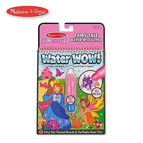 Melissa & Doug Water Wow Malblock - Malen mit Wasser - Märchen (4 Seiten)