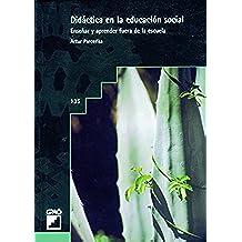 Didáctica en la educación social (GRAO - CASTELLANO)