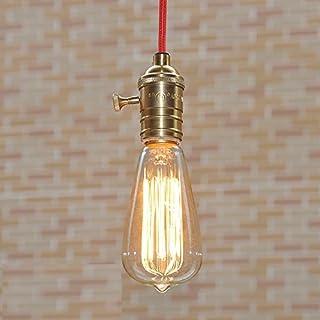 akldigital Old Fashioned Edison Style Dimmble Vintage Light Bulb 40W Screw - Squirrel Cage Filament E27