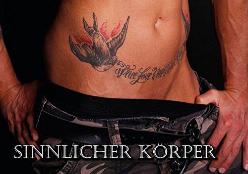 Sinnlicher Körper (Tischaufsteller DIN A5 quer): Faszinierde nackte Männerhaut in Teilausschnitten...