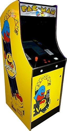 US-Way e.K. G-68-P - Macchina Giocattolo Pac-Man Arcade Video per 412 Giochi Jamma Games