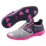 Puma Ignite Blaze Sport DISC Women's Golf Shoes Quarry-Knockout Pink 5.5