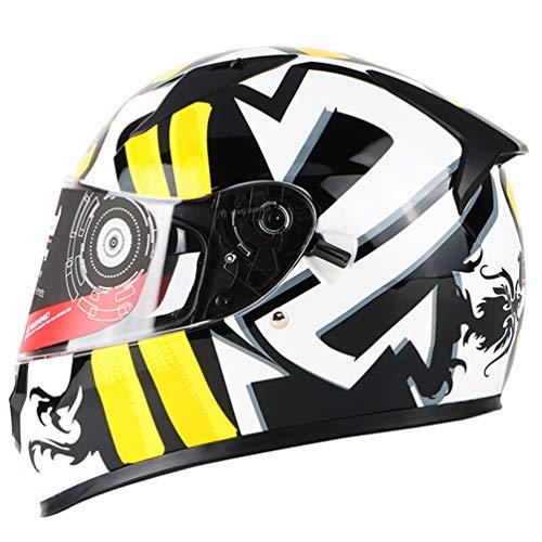 Collo casco moto rimovibile antifogging doppia lente caschi integrali per moto Outdoor moto motocross racing protezione Accessioryes
