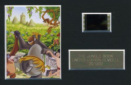 El libro de la selva edición limitada película Cell m Walt Disney animación filmcell factory + certificado de autenticidad