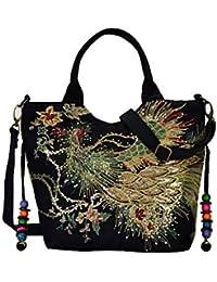 8ad5a5c1a6aa4 Suchergebnis auf Amazon.de für  Bestickte Tasche - Handtaschen ...