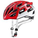 Uvex – Erwachsene Race 7 Fahrradhelm red White, 56-61 cm