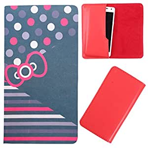 DooDa - For Asus Zenfone 2E PU Leather Designer Fashionable Fancy Case Cover Pouch With Smooth Inner Velvet