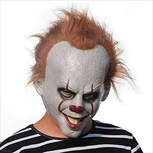 TX ZHAORUI Halloween-Maske Zurück Zum Nächtlichen Thema Maske Latex Explosion Maske Latex Clown Headdress Halloween-Requisiten