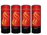 Smartwares 4er-Set Handliches Feuerlöschspray für Entstehungsbrände für Haushalt, Auto, Camping; FS600