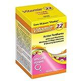 Ineldea - Vitamin'22 specific femme - 60 gélules - 1 mois pour faire le plein d'énergie
