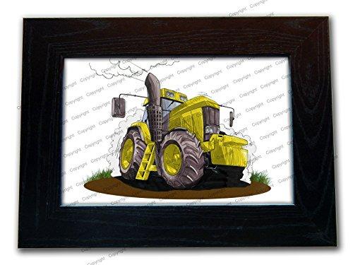 Trattore Farm veicolo ufficiale Koolart di alta qualità In Legno Cornice 3per 2.