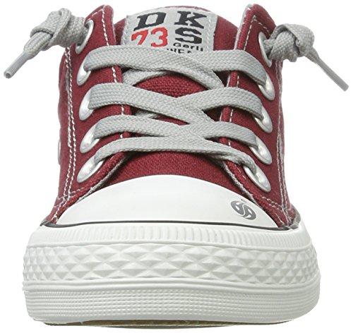 Dockers By Gerli 38ay613-710720, Baskets Basses Sport Unisexes-rouge Enfant (dunkelrot 720)