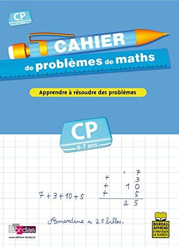 CAHIER PROBLEMES DE MATHS CP