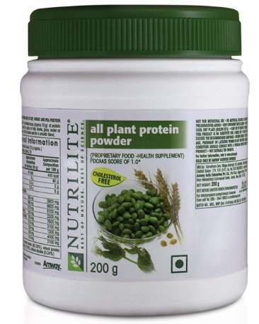 AMWAY NUTRILITE ALL PLANT PROTEIN POWDER 200 GMS