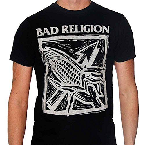 Bad Religion - Against The Grain T-Shirt, schwarz, Grösse M