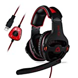 KLIM Mantis - Micro Gaming Headset - USB 7.1 -