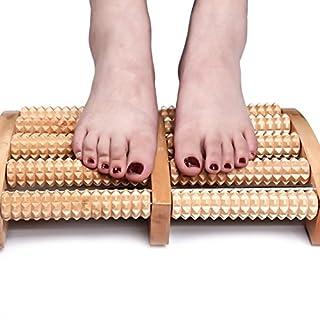 Fuß Massagegerät, angeer Dual Roller Fuß Massagegerät mit Massage Ball für Plantarfasziitis Recovery