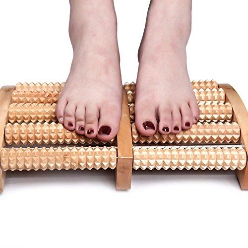 Fuß Massagegerät, angeer Dual Roller Fuß Massagegerät mit Massage Ball für Plantarfasziitis Recovery - Dual Fuß-massagegerät