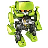 KESOTO 4-en-1 Juguete de Montaje de Dinosaurio/Robot/Coche de Energía Solar Juego...