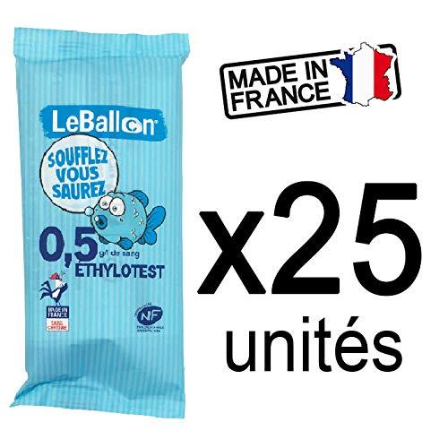 Alkohol-Alkoholtester-Atemtest-Kit - EU-Frankreich-zertifizierte Test-Auslese-Kits für 0,5-Alkoholtester nf-zertifizier