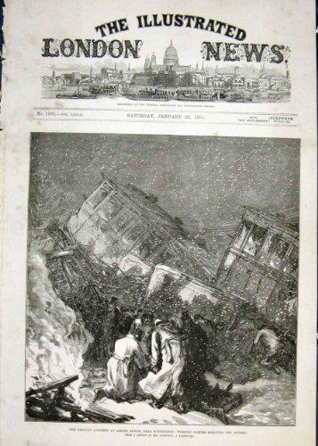 Zug-Wrack Eisenbahnunglück Abbotts Ripton Huntingdon