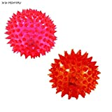 #5: NPRC Elastic Spike Ball with LED flash light & Sound - 6 cm