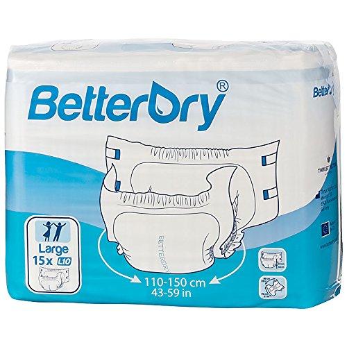 BetterDry L10 Windelhose Erwachsenen-Windeln Inkontinenz Nachtwindeln