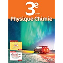 Physique chimie 3e Cycle 4