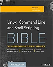 Linux Command Line and  Shell Scripting Bible, 3ed
