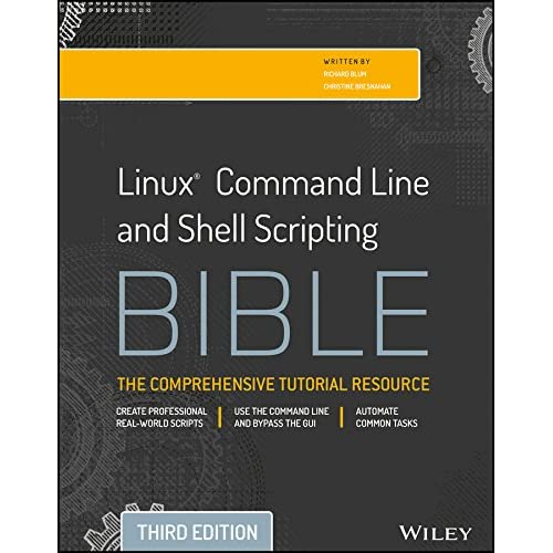 Linux Command Line And Shell Scripting Bible, 3Rd Ed
