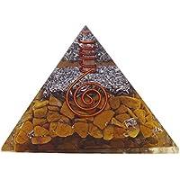 Reikiera Gelbes Jaspis-Stein-Orgon-Pyramide-Reiki-heilende ausgleichende erzeugte Energie preisvergleich bei billige-tabletten.eu