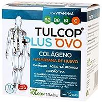 Colágeno con membrana de huevo, magnesio y ácido hialurónico. Tulcop Plus ...