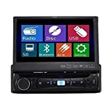 TUVVA KSD7843B Autoradio Moniceiver In-Dash 1-DIN 7-pollici DVD / CD / USB / A...