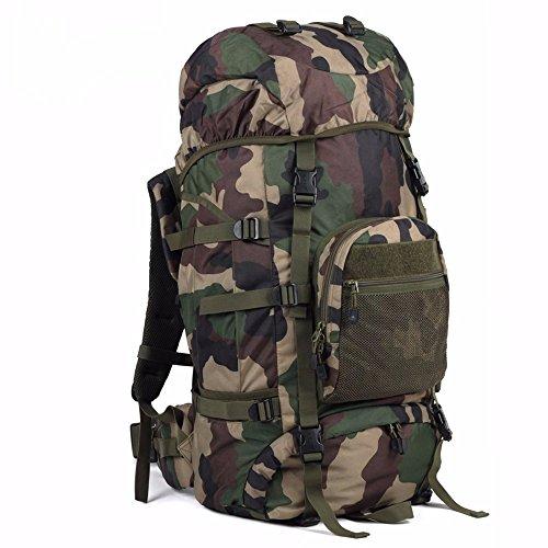Rucksack Bergsteigen Taschen Große Kapazität outdoor Sport Color 70L