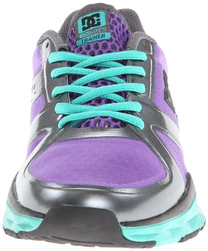 DC Shoes - Scarpe sportive DC Shoes - Schuhe - UNILITE TRAINER - D0320054-01TD - grey, Donna Viola (purple green)