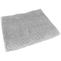 Spares2go filtro a maglia in alluminio per