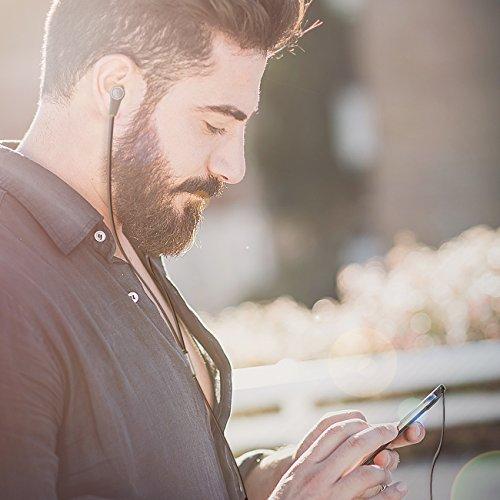 deleyCON SOUNDSTERS S20-M In-Ear Kopfhörer mit Mikrofon – 3,5mm Klinken Stecker 90° gewinkelt – hochwertige Sound- und Sprachqualität – innovatives Headset / Kopfhörer / Orhörer mit Mikrofon – Schwarz - 5