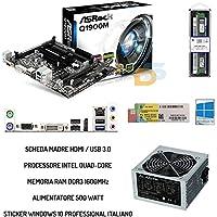 UPGRADE PC DESKTOP SCHEDA HDMI + CPU QUAD CORE +