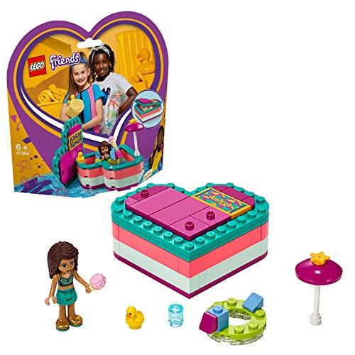 LEGO Friends - Caja Corazón de Verano de Andrea Nuevo juguete de construcción (41384)