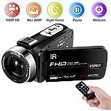 Caméscope Caméra vidéo FHD 1080P...